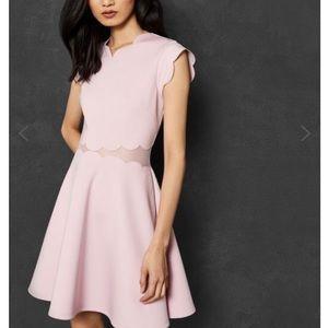 Ted Baker Light Pink Skater Dress